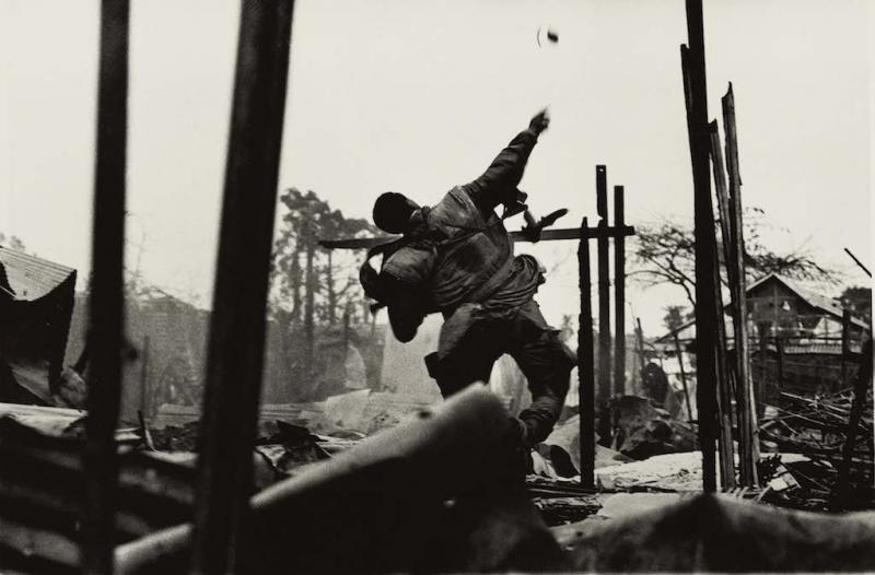 Grenade Thrower, Hue, Vietnam', 1968 by Don McCullin