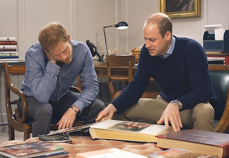 Princes William and Harry open up about their mother, Diana