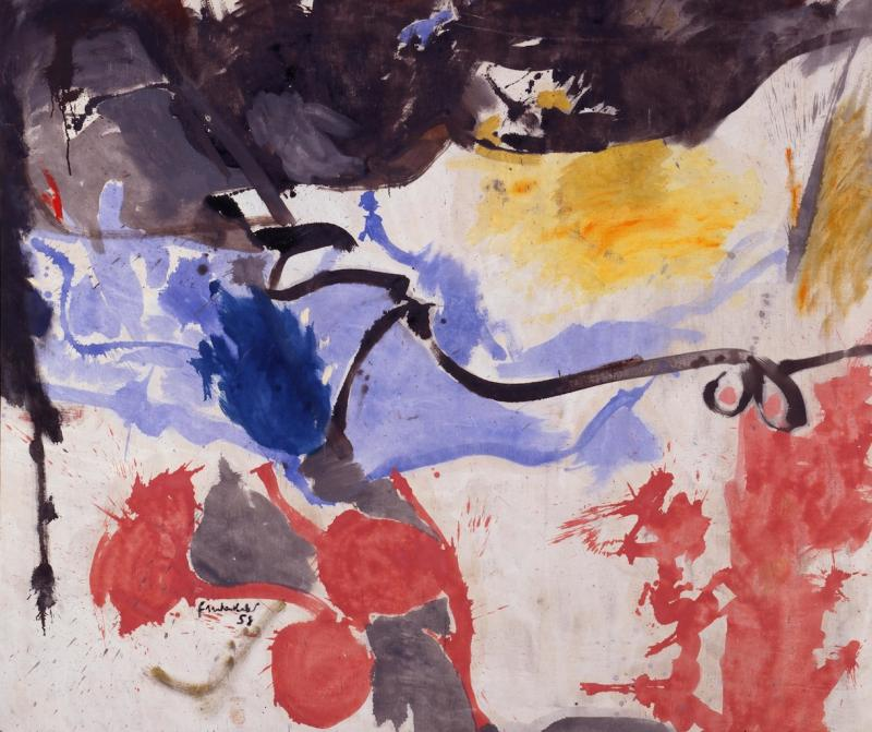 Making Painting: Helen Frankenthaler and JMW Turner, Turner