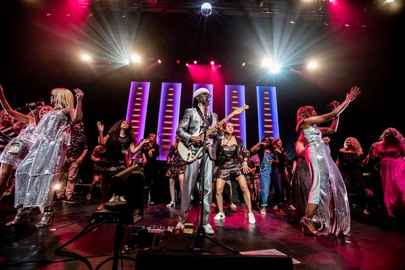 Nile Rodgers and Chic, Royal Festival Hall review – great band