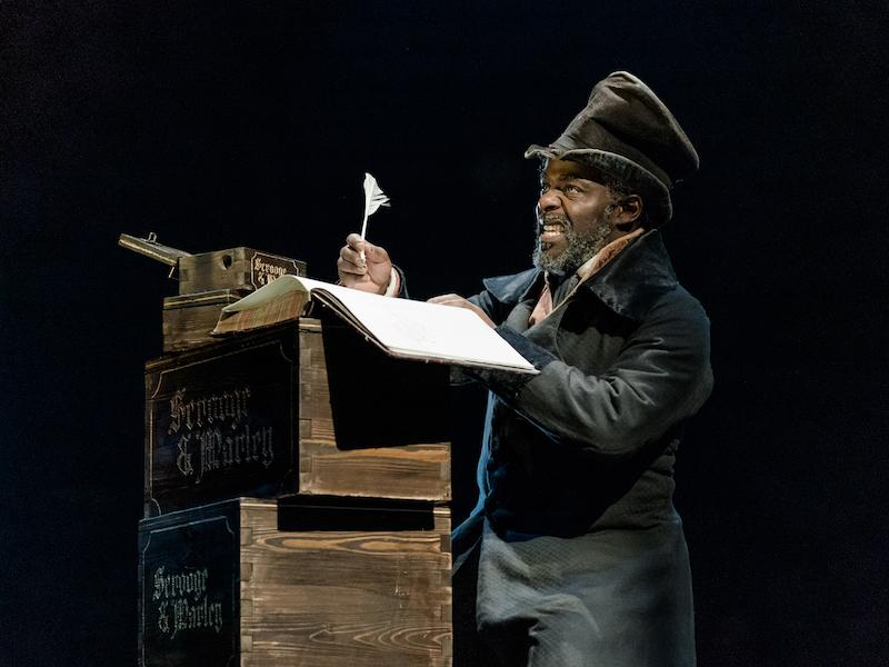 A Christmas Carol, Old Vic Theatre review - the festive favourite mixes gloom with merriment