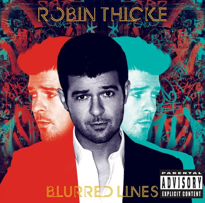 Thicke blurred girls robin lines