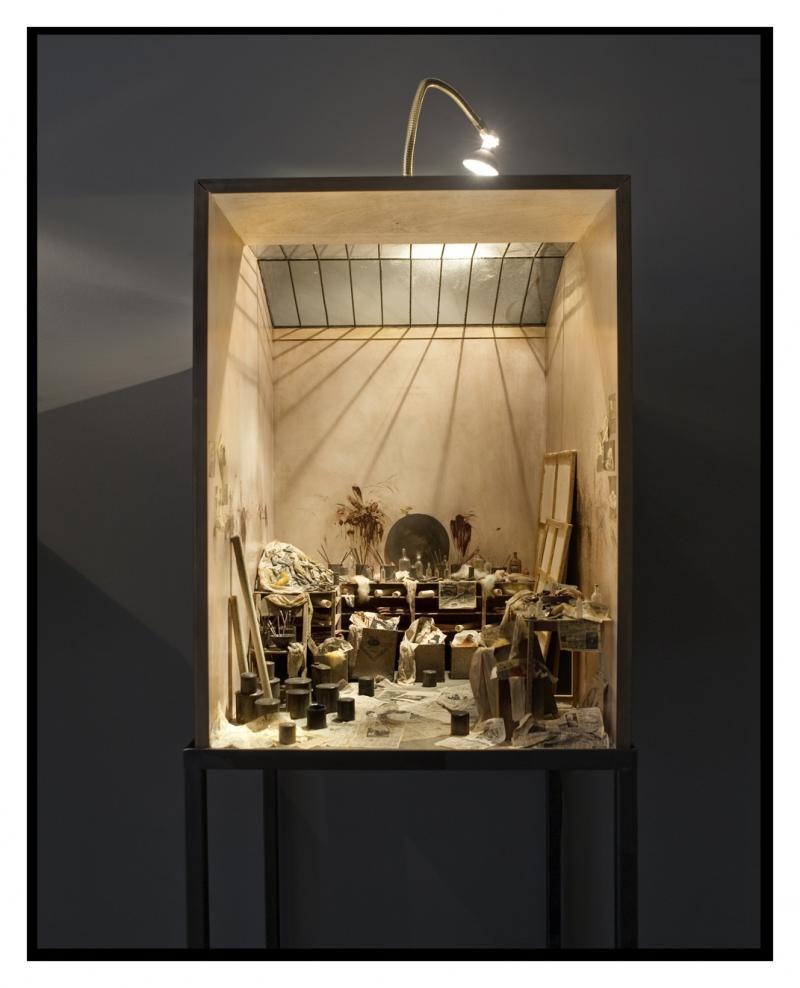 All Visual Arts: Charles Matton: Enclosures, All Visual Arts