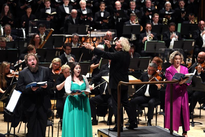LSO, Rattle, Barbican Hall review - a mixed bag of British